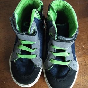 Cat and Jack size 8 toddler high tops